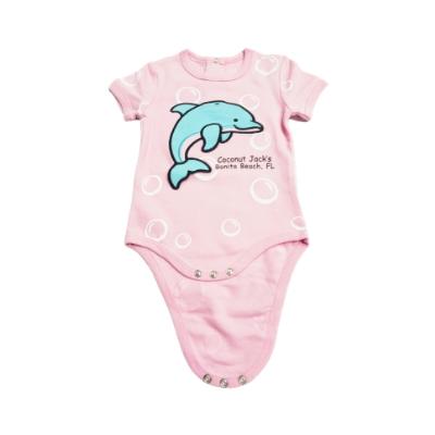 Coconut Jack's Baby Bodysuits dolphin
