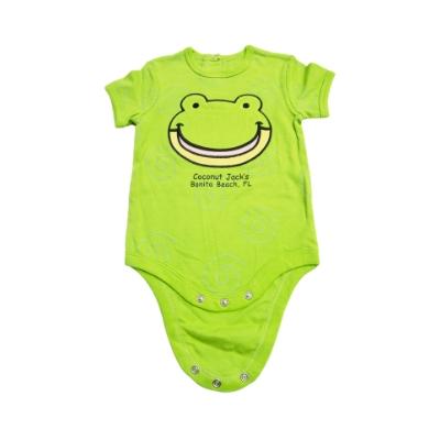 Coconut Jack's Baby Bodysuits frog