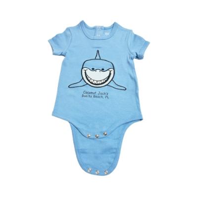Coconut Jack's Baby Bodysuits shark