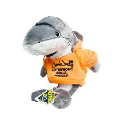 #1 tiger shark in orange hoodie
