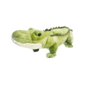 Green Gator stuffed animal